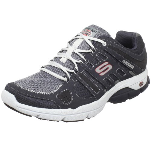 Skechers Men's Glide Sports Shoe Blue UK 10