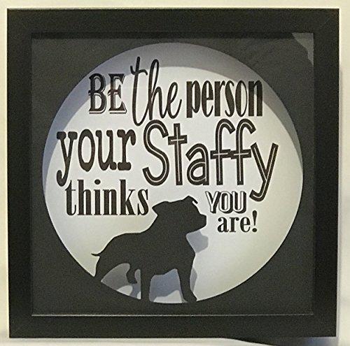 Geschenk für Staffy Eigentümer. Ihr Hund Geschenk Great Love