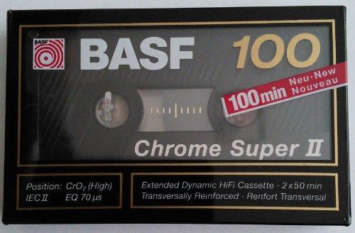 basf-chrome-super-ii-100-minutes-audio-cassette