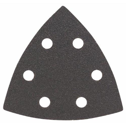 Bosch Pro Schleifblatt für Dreieckschleifer und Multi-Cutter (5 Stück, 93 mm, Körnung 80, F355)