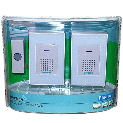 siemensr-wirefree-wireless-twin-doorbell-door-chime-kit-plug-in-with-light-up-ip44-water-resistant-p