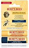 Burt's Bees 100 Percent Natural Lip Balm, 4.25 g - Pack of 2
