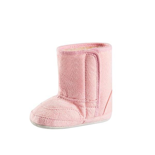 ESTAMICO Infant Baby Girls Anti-Slip Winter Snow Boots Warm Shoes