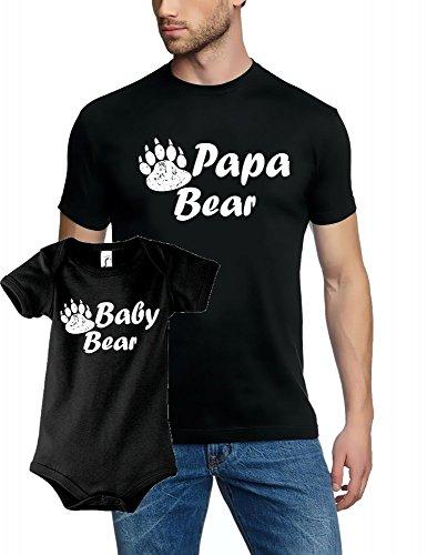 coole-fun-t-shirts-set-de-naissance-t-shirt-papa-bear-body-baby-bear-body-pour-fille-et-garcon-t-shi