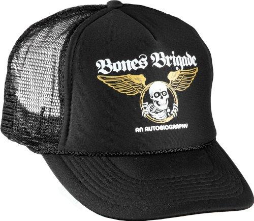 powell-peralta Bones Brigade ein Autobiographie Mesh Hat, schwarz (Powell Schweizer)
