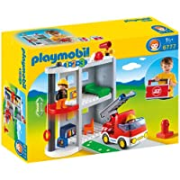 Playmobil 6777 1.2.3 Take Along Fire Station