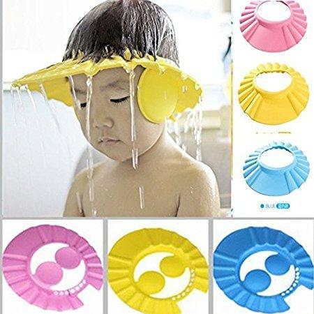 Woogor Baby Shower Cap New (Multicolor)
