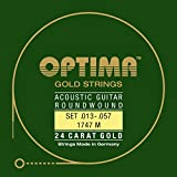 Optima 1747 M Acoustic GOLD Strings, medium