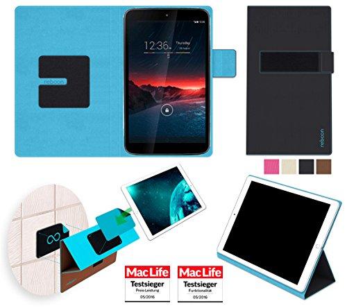 reboon Vodafone Smart Tab 4G Hülle Tasche Cover Case Bumper | Schwarz | Testsieger