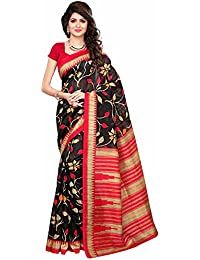 Ishin Mysore Art Silk Black & Red Printed Party Wear Wedding Wear Casual Wear Festive Wear New Collection Latest...