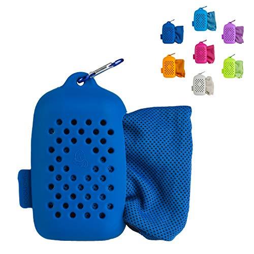Journext kühlendes Handtuch, Mikrofaser Sporthandtuch, Reisehandtuch und Kühlhandtuch mit beeindruckendem Effekt