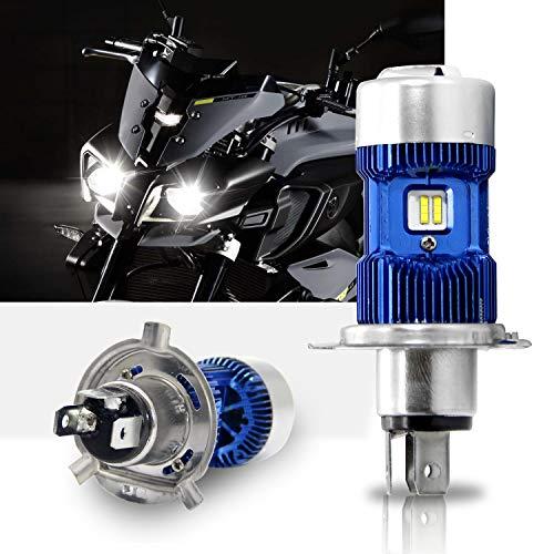 H4 Led faros de moto Kit- Win Power- H4 LED Bulbo Hi / Lo Beam, Xenon blanco 6000K 4000Lm Super brillante DC 12V / DC 24V, 1Pc