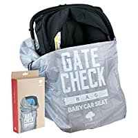 Baby Car Seat Travel Bag - Ideal for Airplane Gate Check In - Easy to Carry and Identify at Airport Baggage Carousel