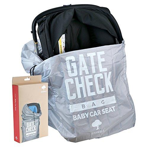 Kindersitz Tasche – Autokindersitz Transporttasche und Reisetasche ideal für den Gate Check in beim Fliegen – einfacher Transport & leicht zu identifizieren am Flughafen Gepäckband (Baby Auto-kindersitze Und Kinderwagen)