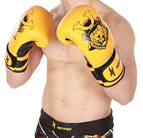 Boxhandschuhe 16 oz Lion Justyfight