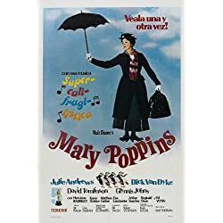 Mary Poppins Poster (69cm x 102cm) (1964)