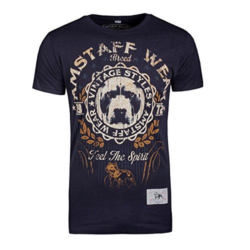 Amstaff Vintage Malex T-Shirt Schwarz