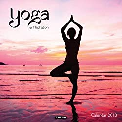 Yoga & Meditation Wall Calendar 2018 (Art Calendar)