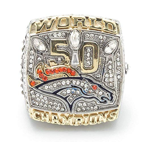 G-J Mode Kreative Ringe Denver Broncos Championship Rings Fan Geschenkringe, Bild, Nummer 11, Bild, Nummer 11
