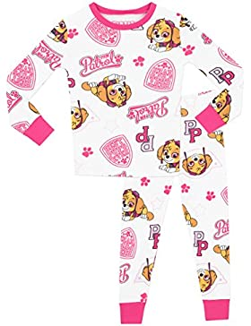 La Patrulla Canina - Pijama para niñas - Paw Patrol - Ajuste Ceñido