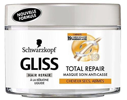 Schwarzkopf - Gliss - Masque Anti-Casse Total Repair - Pot 200 ml