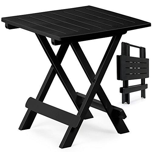 1x Kunststofftisch Adige 45x43x50cm schwarz