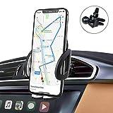 iAmotus Supporto per Auto Universale Smartphone Supporto 360 Gradi di Rotazione [Versione Migliorata Clip] Porta Cellulare Auto per Telefoni iPhone XS Max XR X 8 7 6 Plus, Samsung S9/8/7, Huawei, GPS
