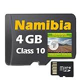 Produkt-Bild: ?Namibia Topo Karte 10m Höhenlinien 4GB microSD für Garmin Navi, PC & MAC? ORIGINAL von STILTEC ©