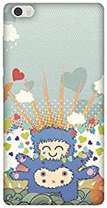 The Racoon Grip Monster Love hard plastic printed back case/cover for Xiaomi Mi Note