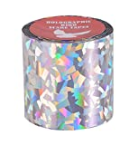 Holographic Bird Scare Tape Crack Ice Repeller Tape 2 inch 150 feet 1 Rolls