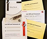 LAST WILL and TESTAMENT KIT, Super 'Value' Pack, 2018 Brand New Latest Edition. Includes ALL you need to make TWO Legally Valid WILLS, with FULL Instructions. Now includes FREE, specially designed, peel and secure Will Storage Envelope,