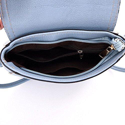 Kukubird borsa a tracolla Lily quotidiana borsa Casual con sacchetto raccoglipolvere Kukubird 1Black