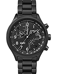 Timex Herren-Armbanduhr Man Iq Fly-Back Chrono Analog Quarz TW2P60800