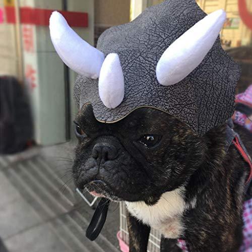 Autone Haustierhut Kostüm Halloween Urlaub Fancy Cosplay Cap Hund Katze Bulldog Kopfbedeckung