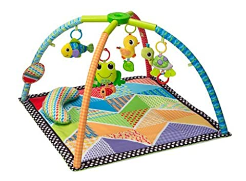 Infantino Pond Pals Twist and Fold Activity Gym and Play Mat by Infantino