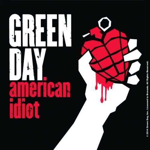 Green Day American Idiot Individual Coaster