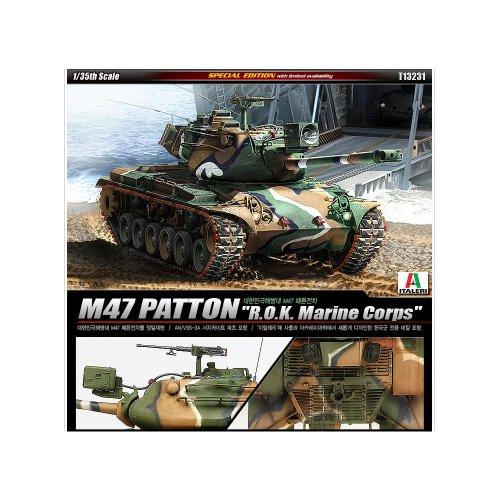 Académie Modèle 1/35Corée du Sud ROK Marine Corps M47Patton Tank