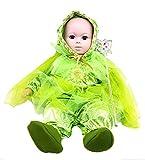 ropa nueva máscara de carnaval de Halloween juego cosplay del traje por el personaje de Peter Pan trills trilly onesie del bebé recién nacido enteras chanclos auriculares alas velo bebé recién nacido sz 6 meses