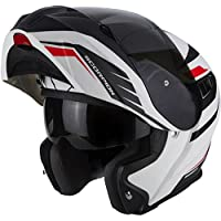 Scorpion Casco Moto EXO-920 Shuttle, multicolor, talla XXL
