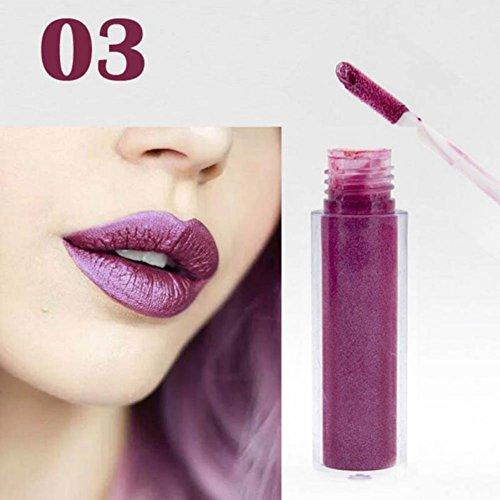 Etosell Long Lasting Brillant à Lèvres Rouge à Lèvres Liquide Imperméable à L'eau