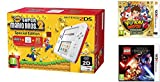 Consola Nintendo 2DS Roja + New Super Mario Bros 2 + Yo-Kai Watch 2:...