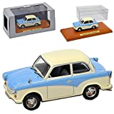 alles-meine.de GmbH Trabant P50 500 Limousine Blau Cream 1958-1962 DDR 1/43 Atlas Modell Auto