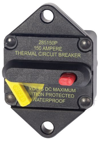 Blue Sea - 7089 150 Amp Circuit Breaker Panel Mount 285 Series by Blue Sea Systems