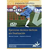 DVD Ejercicios técnico-tácticos sin finalización