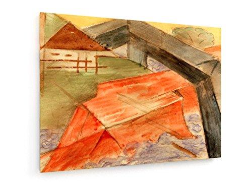 franz-marc-casa-y-puente-1913-1914-60x45-cm-weewado-impresiones-sobre-lienzo-muro-de-arte-antiguos-m