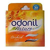 Odonil Toilet Air Freshener, Orchid Dew - 50 g