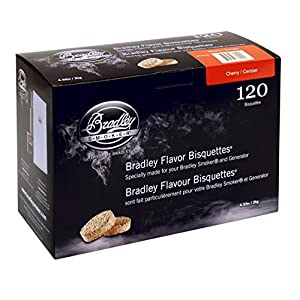 51vkpeSPiCL. SS300  - Bradley Smoker Cherry Bisquettes 120 pack
