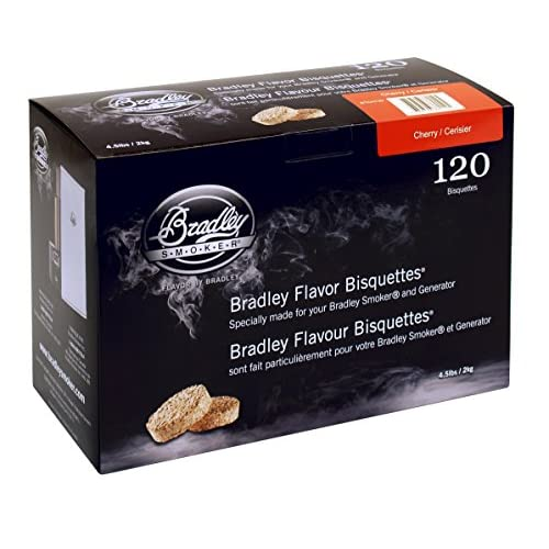 51vkpeSPiCL. SS500  - Bradley Smoker Cherry Bisquettes 120 pack