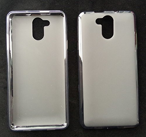 Prevoa ® 丨Transparent Silikon TPU Hülle Case Schutzhülle Tasche für Elephone P7000 4G Android Unlocked Smartphone - (Weiß)