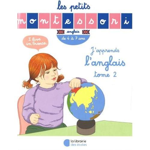 Les Petits Montessori : J'apprends l'anglais - Tome 2